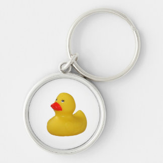 Rubber duck cute fun yellow keyring, keychain