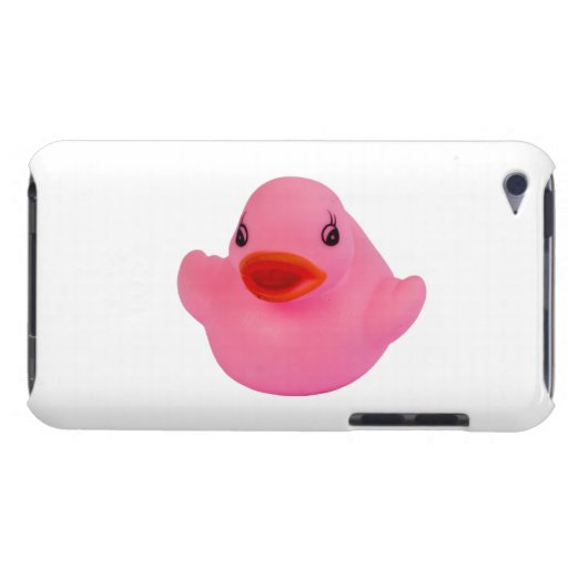 Rubber duck cute pink, fun, novelty, gift Case-Mate iPod touch case