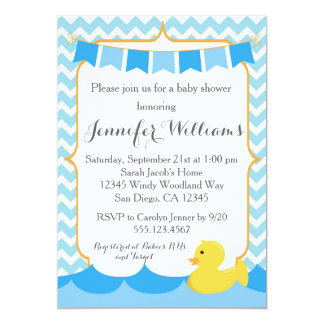 Ducky Baby Shower Invitations Announcements Zazzle Canada