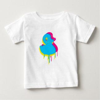 Rubber Duck Graffiti Pop Art Rubber Ducky Baby T-Shirt
