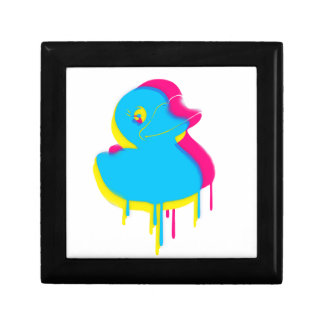 Rubber Duck Graffiti Pop Art Rubber Ducky Gift Box