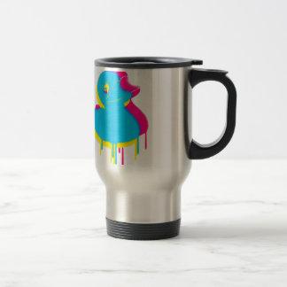 Rubber Duck Graffiti Pop Art Rubber Ducky Travel Mug