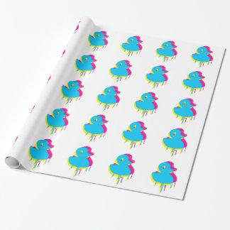 Rubber Duck Graffiti Pop Art Rubber Ducky Wrapping Paper