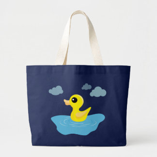 Rubber Duck Grocery Tote Jumbo Tote Bag