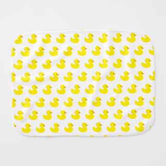 Rubber Duck Pattern Baby Burp Cloth