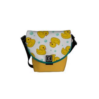 Rubber Duck Pattern Commuter Bags