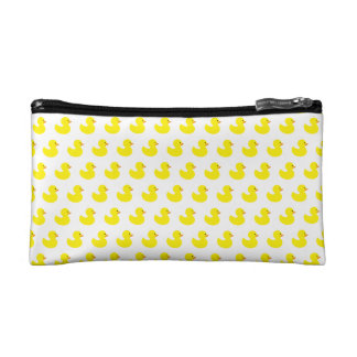 Rubber Duck Pattern Cosmetic Bag
