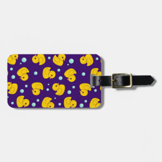 Rubber Duck Pattern Tag For Luggage