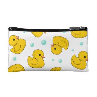 Rubber Duck Pattern Makeup Bag