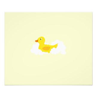Rubber duck photo print