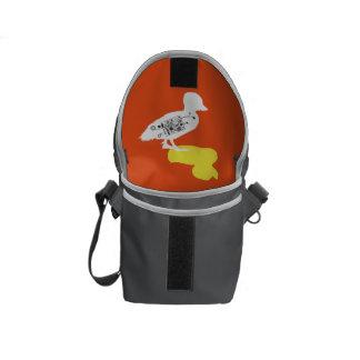 Rubber Duck Shadow Duck Mini Messenger Bag Inside