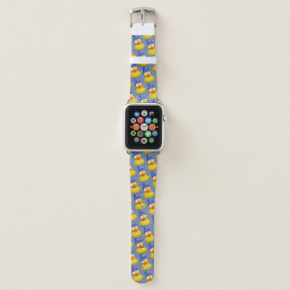 rubber duck with a wizard's hat apple watch band