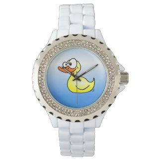 Rubber duck wristwatch