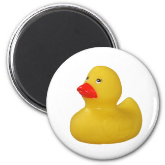Rubber duck yellow cute fun fridge magnet, gift magnet