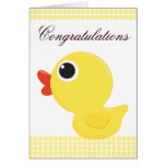 Rubber Duckie Greeting Card