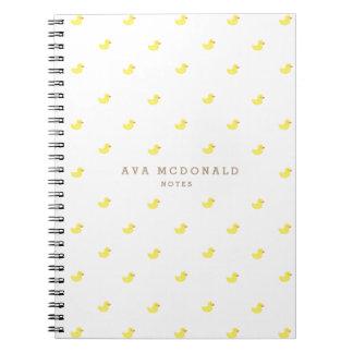 Rubber Duckies Notebooks