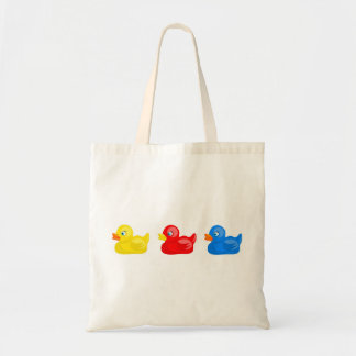 Rubber Ducks Budget Tote Bag