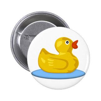 Rubber Ducky 2 Inch Round Button