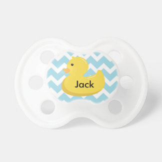 Rubber Ducky Baby Shower Gift Pacifier