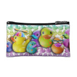 RUBBER DUCKY Cosmetic - Clutch - Accessory BAG
