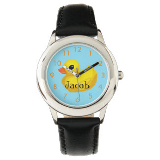 """Rubber Ducky"" Custom Kid's Watch"