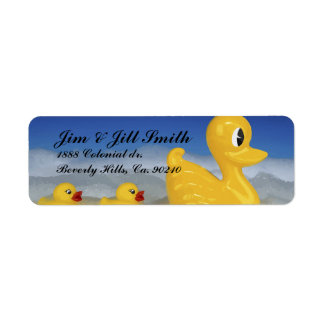 Rubber Ducky Family In Bath Set