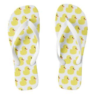 """Rubber Ducky"" Flip Flops"
