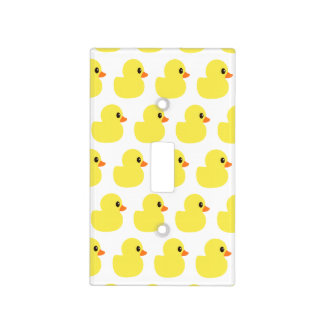 """Rubber Ducky"" Light Switch Cover"