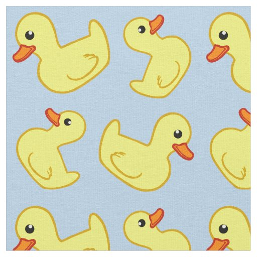 Rubber Ducky Nursery Fabric