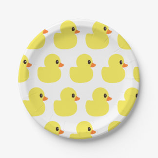 """Rubber Ducky"" Paper Plates"