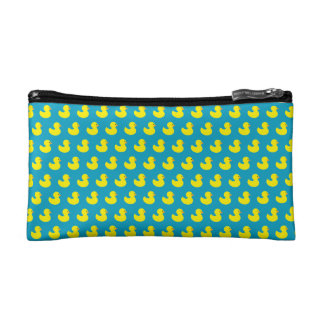 Rubber Ducky Pattern Cosmetic Bag
