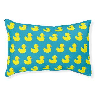Rubber Ducky Pattern Dog Bed Small Dog Bed