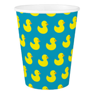 Rubber Ducky Pattern Paper Cups Paper Cup