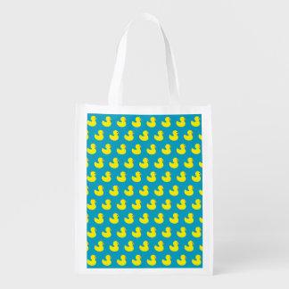 Rubber Ducky Pattern Reusable Bag