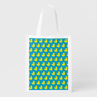 Rubber Ducky Pattern Reusable Bag Reusable Grocery Bags