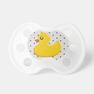 Rubber Ducky Polka Dot 0-6 mo BooginHead® Pacifier