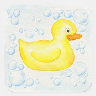Rubber Ducky sticker