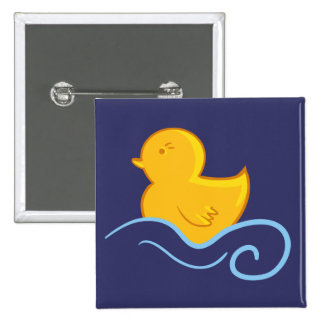 rubber ducky with waves button