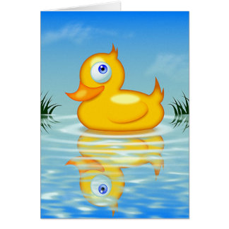 Rubber Quackling Card