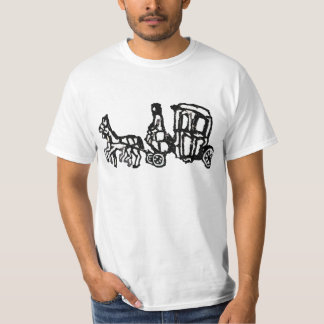 Rubber Stamp, Ancient Egyptian Chariot T-Shirt
