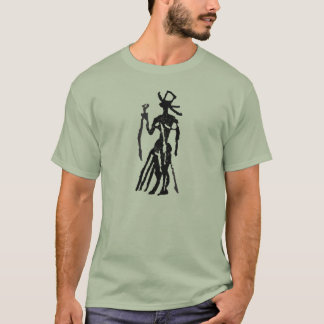 Rubber Stamp, Egyptian Statue T-Shirt