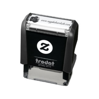 Rubber Stamp with Photocamera