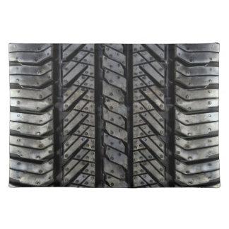 Rubber Tire Thread Automotive Style Decor Placemat