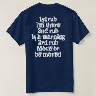 Rubbing in Racing t-shirt
