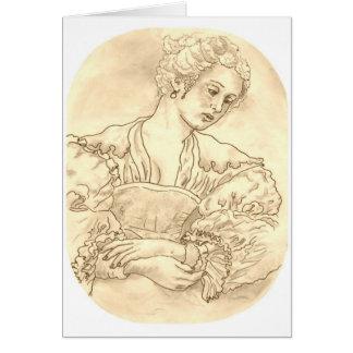 Rubens Girl Card