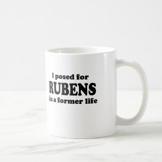 Rubens Model Coffee Mug