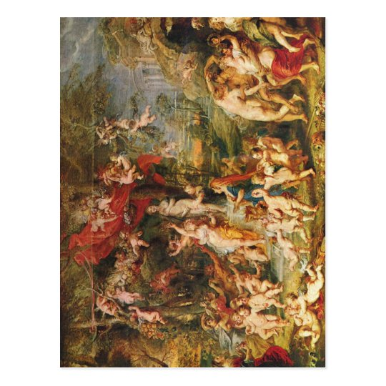Rubens, Peter Paul Venusfest um 1635 c. 1635 Techn Postcard