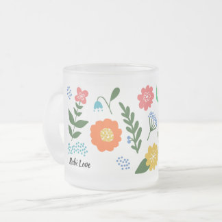 Rubi Flower Mugs
