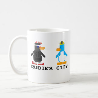 Rubik's City and MegaPlex 8-Bit Mug