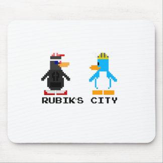 Rubik's City & MegaPlex 8-Bit Mousepad